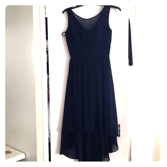 Dresses | Navy Blue Dress For Wedding Guest Or Bridesmaid | Poshmark